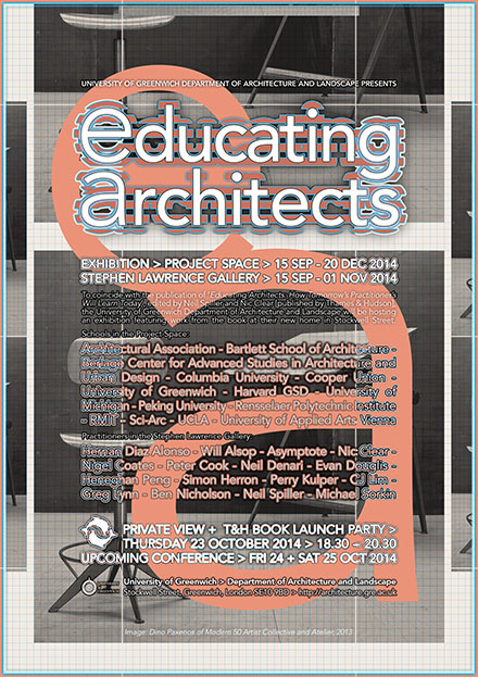 GRE_EducatingArchitects_Exhibition-poster300