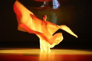 "Richard Hoadley: ""Semaphore"" in performance."