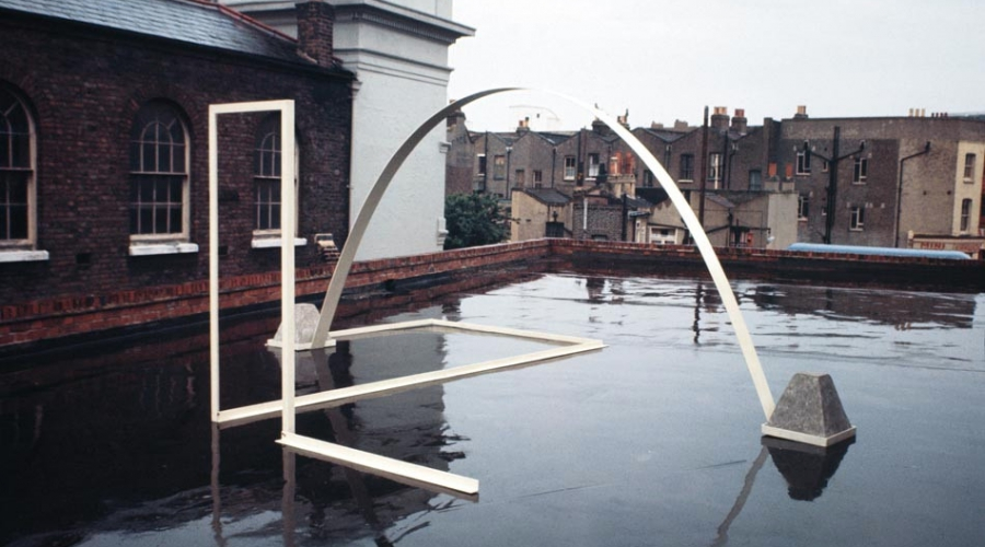 Roland Brener, Sculpture with Single Arch, 1968