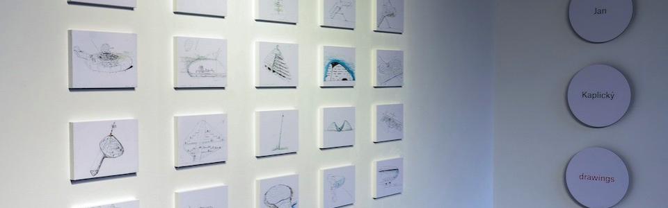 Jan Kaplický Drawings