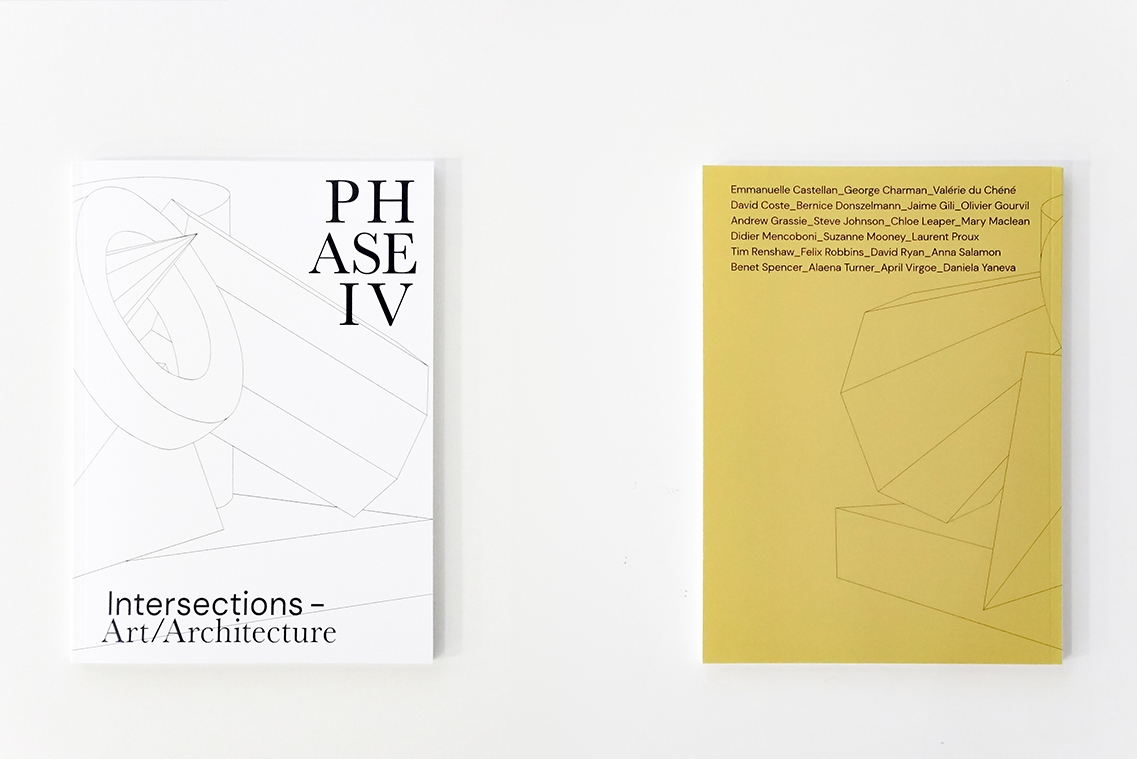 Image of front and back of the Phase IV Exhibition Catalogue