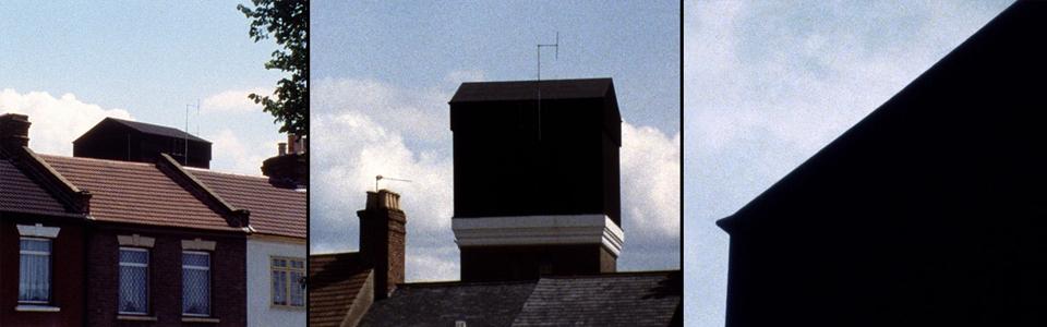 The Black Tower, John Smith (detail, split screen)