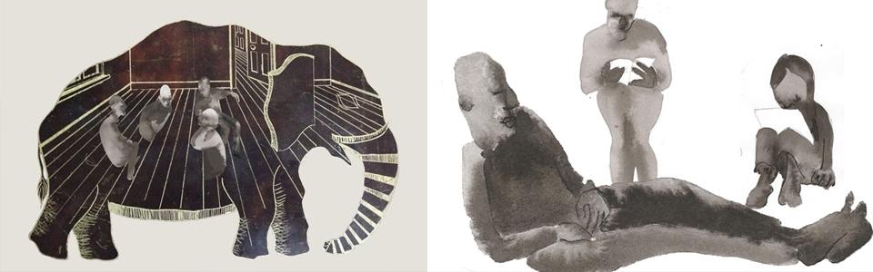 The Elephant Is The Room, Litza Jansz (details)