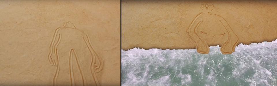 Tide, Litza Jansz (split screen)