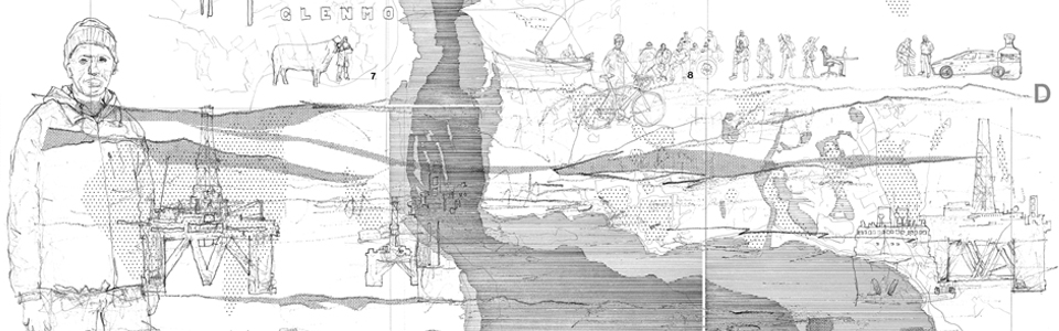 Ed Wall / Project Studio, Drawing 7, Valley Project, 2019